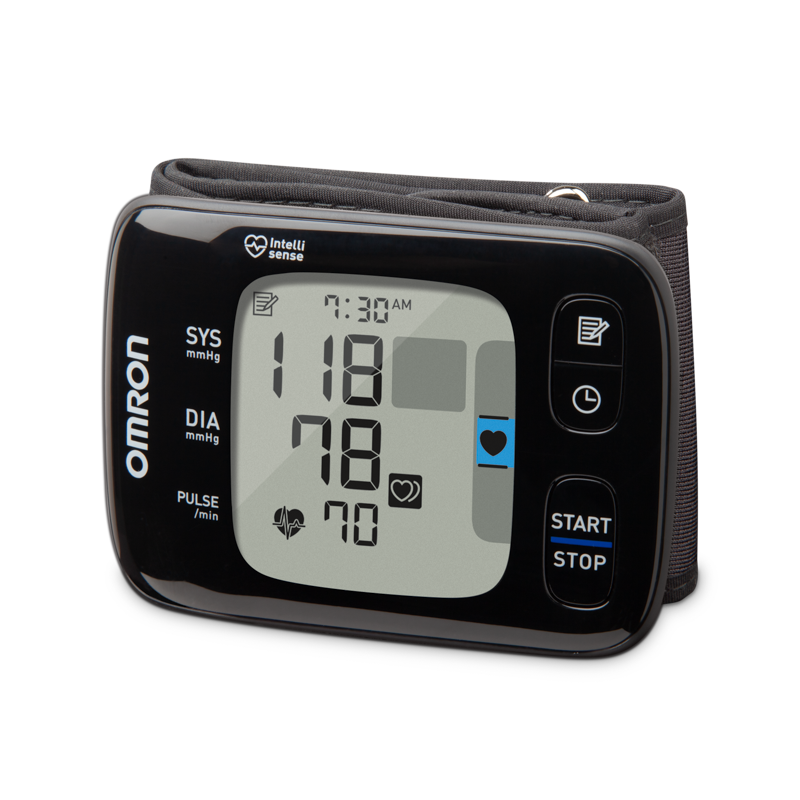 7 Series Wireless Wrist Blood Pressure Monitor