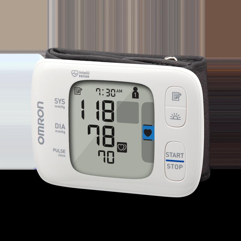 Gold Wireless Wrist Blood Pressure Monitor
