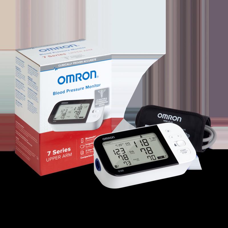 7 Series® Wireless Upper Arm Blood Pressure Monitor view 3