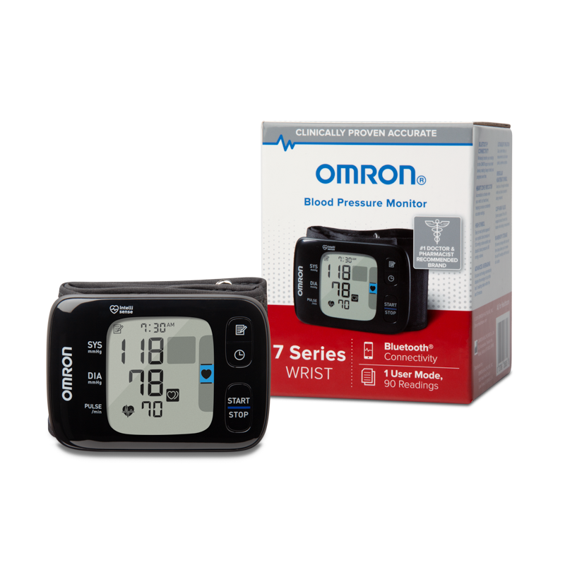 7 Series® Wireless Wrist Blood Pressure Monitor view 3