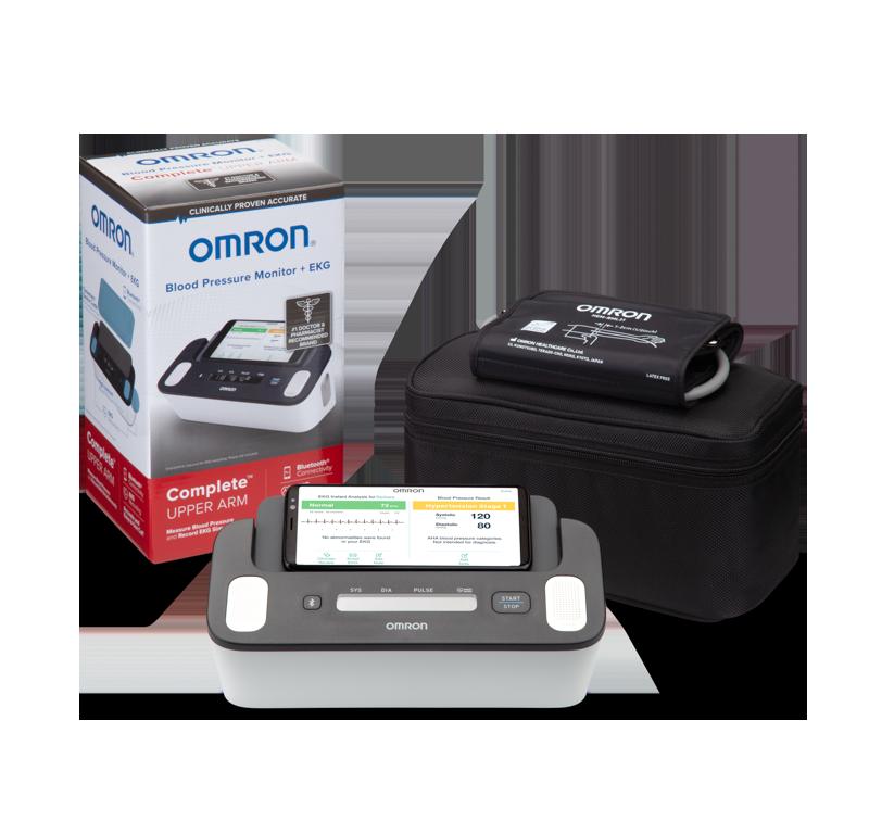 Complete™ Wireless Upper Arm Blood Pressure Monitor + EKG view 3
