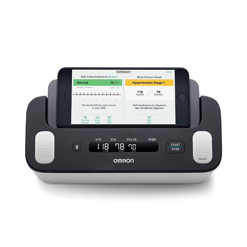 Complete™ Wireless Upper Arm Blood Pressure Monitor + EKG view 2