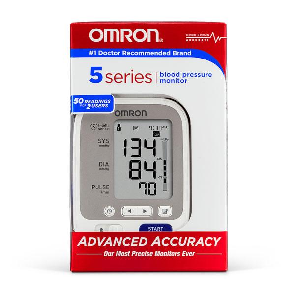 Omron 5 Series Upper Arm Blood Pressure Monitor Bp742n