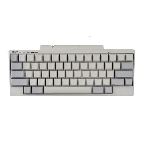HHKB HYBRID Keyboard (White/Blank Keycaps) PD-KB800WN