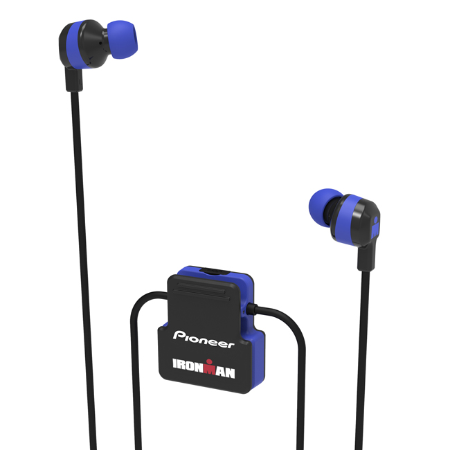 SE-IM5BT-L IRONMAN<sup>®</sup> Wireless Sports Earphones (Blue)