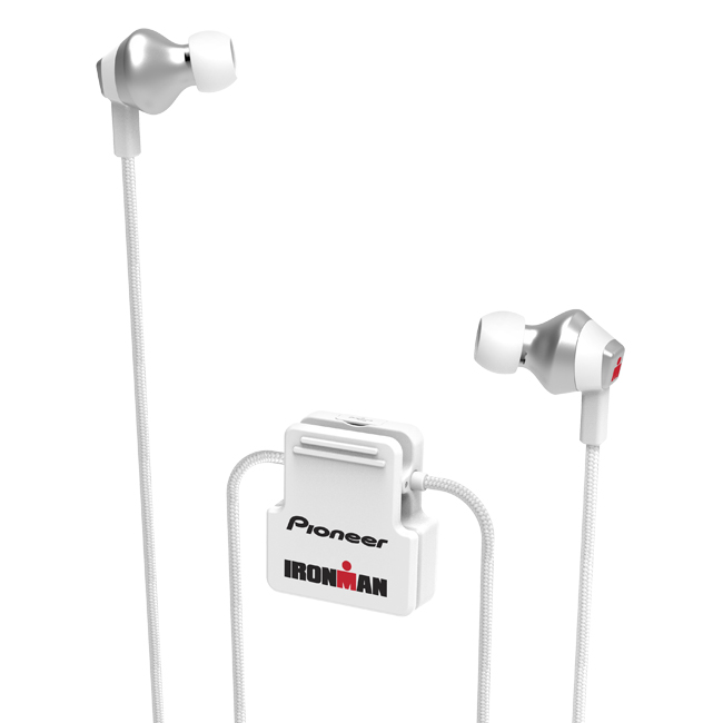 SE-IM6BT-W IRONMAN<sup>®</sup> Wireless Sports Earphones (White)
