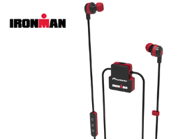 SE-IM5BT-R IRONMAN<sup>®</sup> Wireless Sports Earphones (Red)