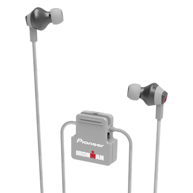 SE-IM6BT-H IRONMAN<sup>®</sup> Wireless Sports Earphones (Gray)