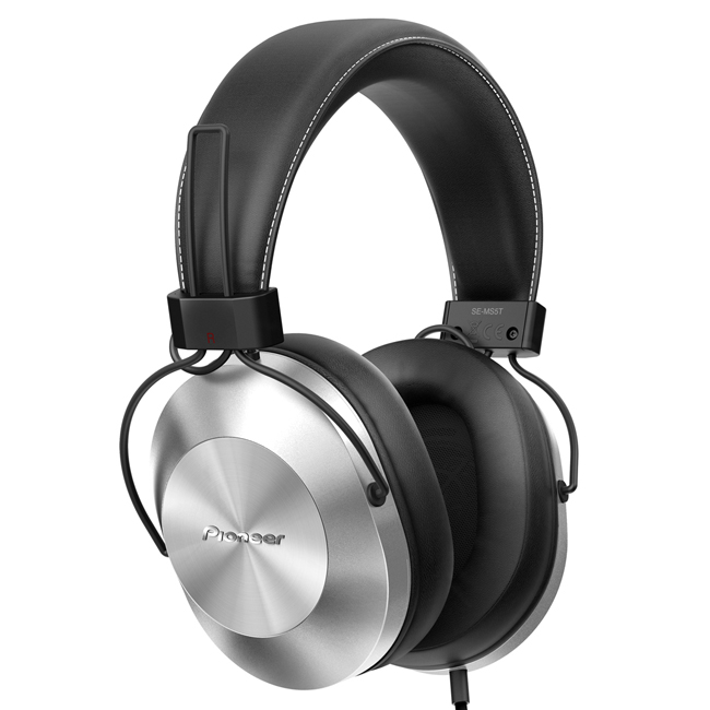 SE-MS5TS Hi-Res Stereo Wired Headphones (Silver)