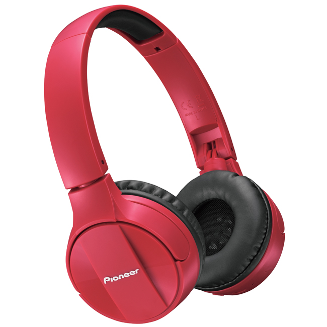 SEMJ553BTR Wireless Stereo Headphones (Red)