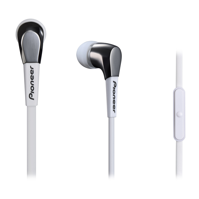 SECL722TW In-Ear Stereo Headphones (White)