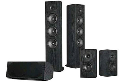 SP-PK52FS Andrew Jones Designed 5.0 Channel Speaker Package