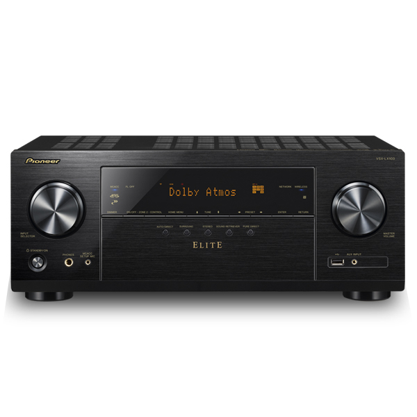ELITE VSX-LX103 7.2 Ch. A/V Receiver (Refurbished)