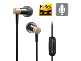 SE-CH3T-G Hi-Res Audio In-Ear Headphone (Gold)