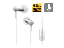 SE-CH3T-S Hi-Res Audio In-Ear Headphone (Silver)