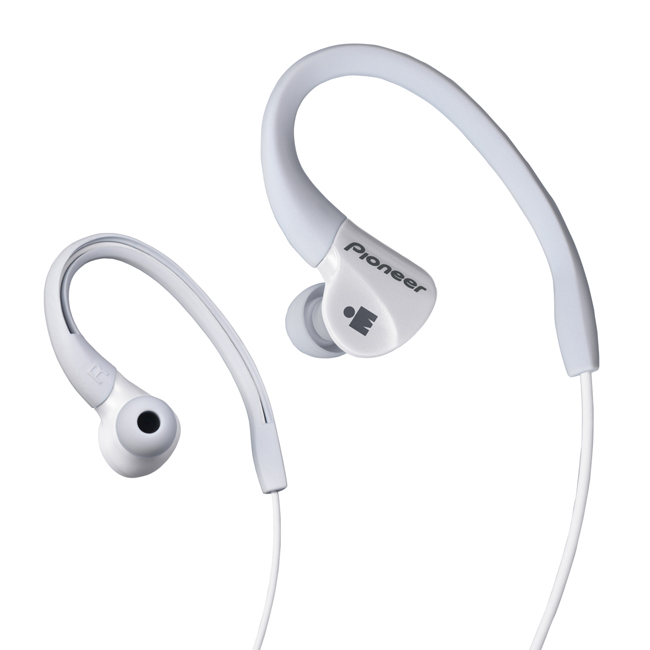 SE-E3M-W IRONMAN<sup>®</sup> Sports Earphones (White)