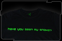 Razer Attitude Tee (Have You Seen My Snake)