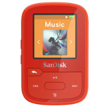 SanDisk Clip Sport Plus - Red 16GB