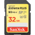 SanDisk Extreme PLUS SDXC 90MB/s UHS-I Memory Card - 32GB