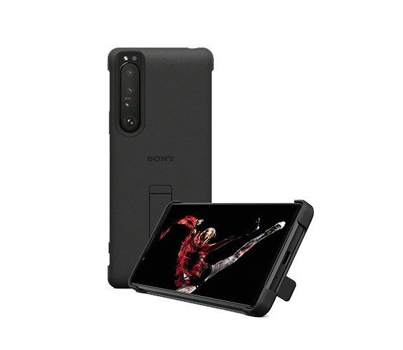 Style Cover with Stand for Xperia 1 III Black