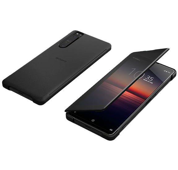 Style Cover View for Xperia 1 II Black