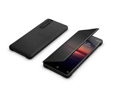 Sony Style Cover View XQZ-CVAT pour Xperia 1 II noire