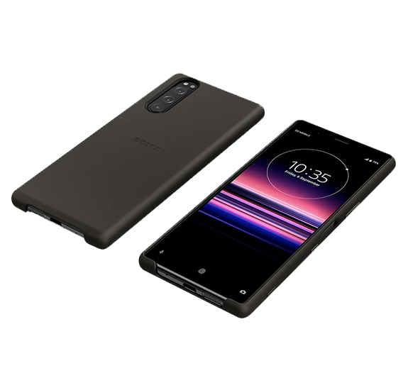 Style Cover for Xperia 5 Black
