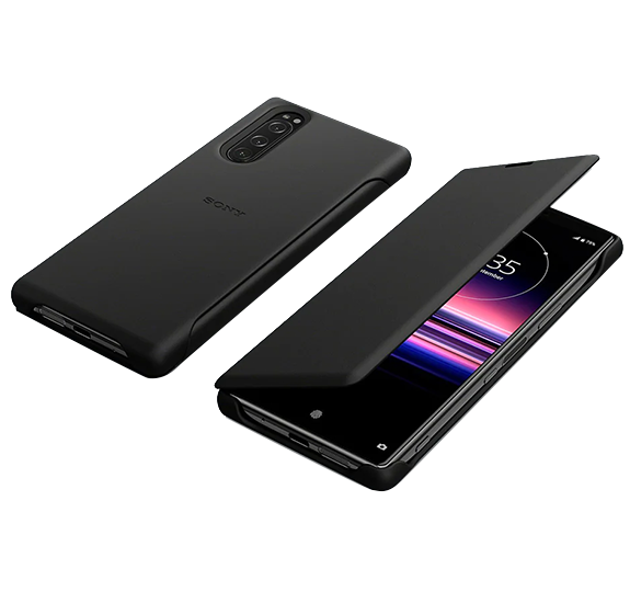 Style Cover Leather for Xperia 5