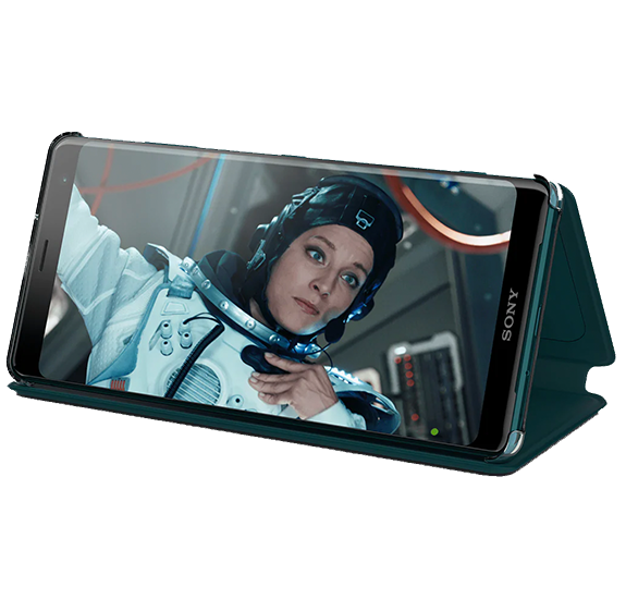 Style Cover Stand for XZ3 Green