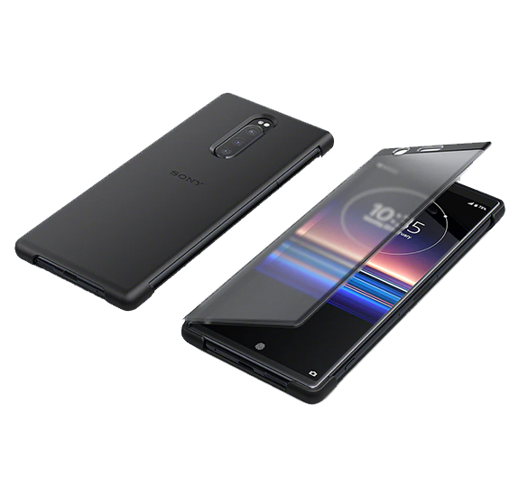 Style Cover Touch for Xperia 1 Black