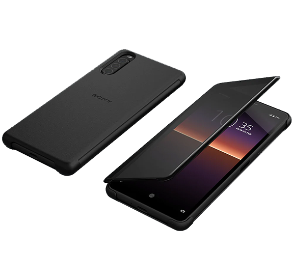 Style Cover View for Xperia 10 II Black