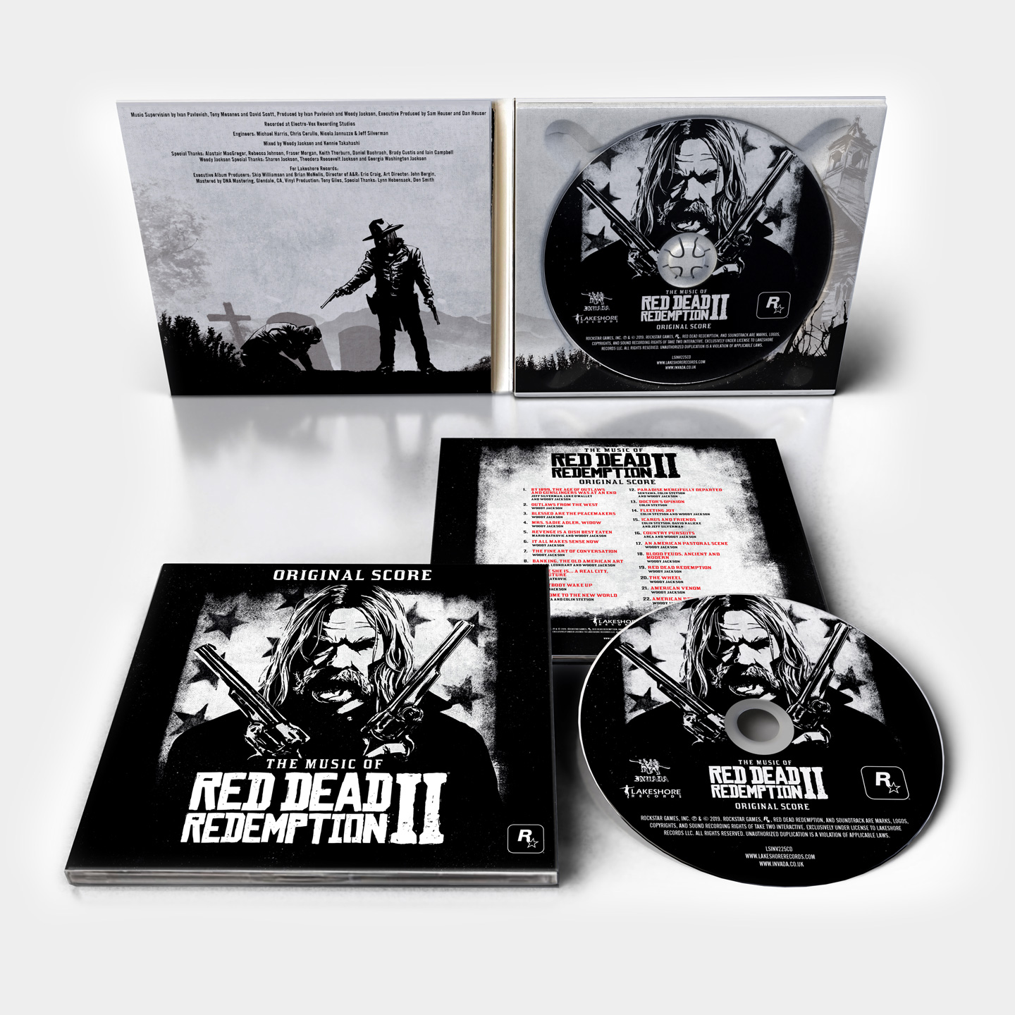 Red Dead Redemption 2: Original Score CD