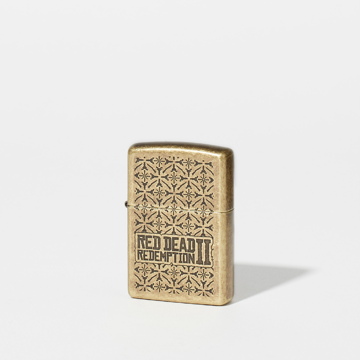 Red Dead Redemption 2 Brass Zippo Lighter