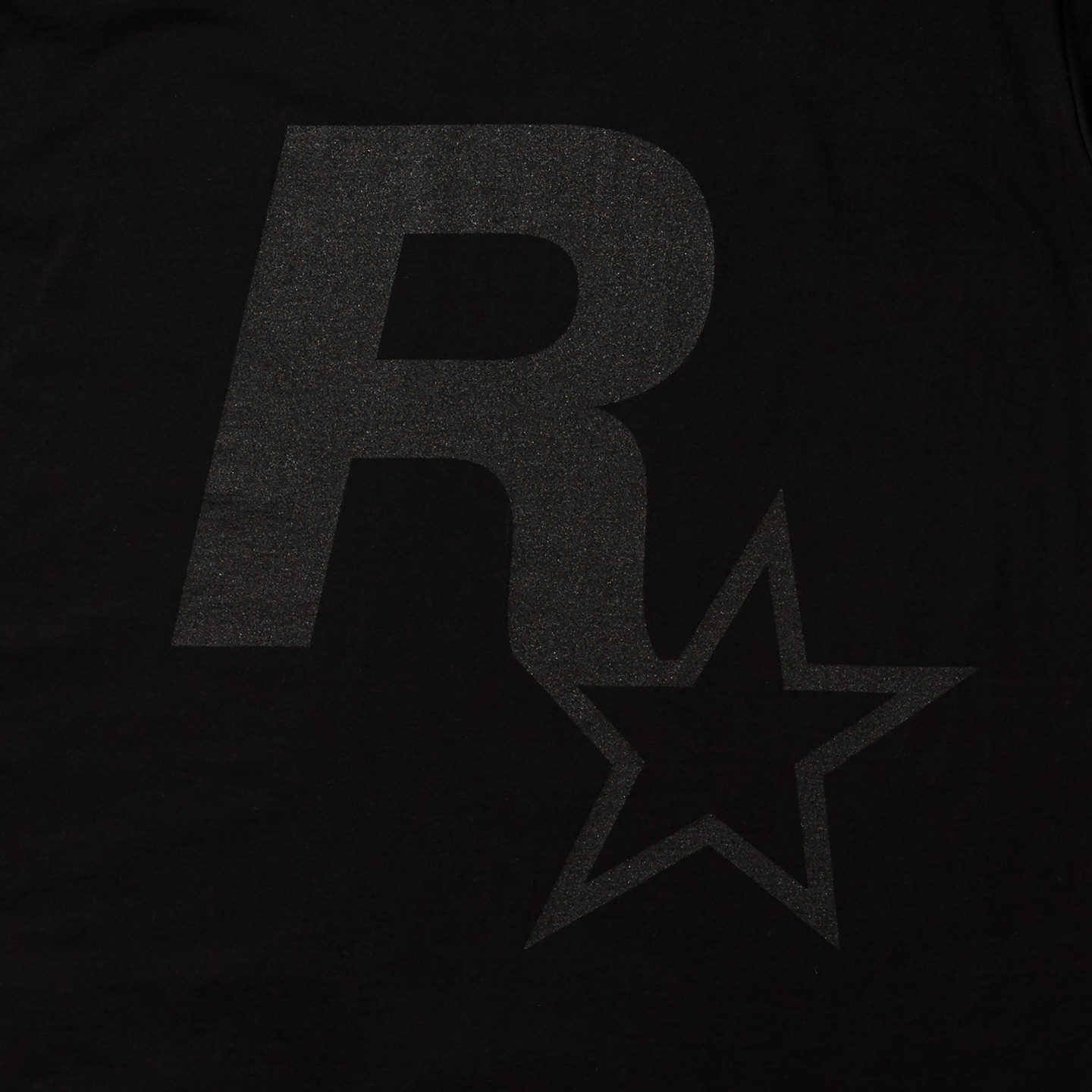 Rockstar Logo Black Out Tee