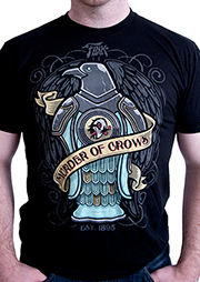 BioShock Infinite Murder of Crows Tattoo T-shirt (Men's)