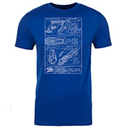 Sky Hook Blueprint T-Shirt