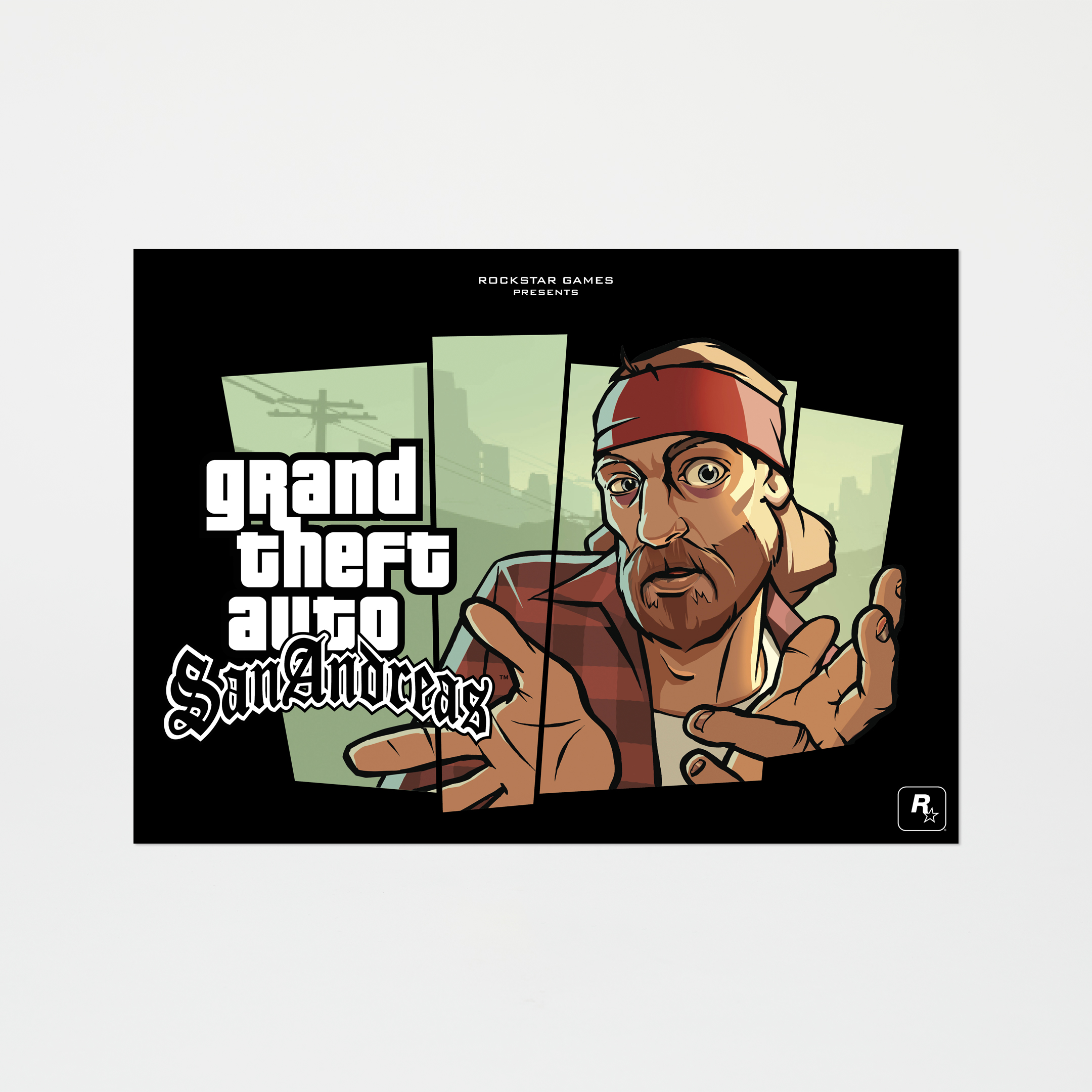San Andreas Limited-Edition The Truth Lithograph