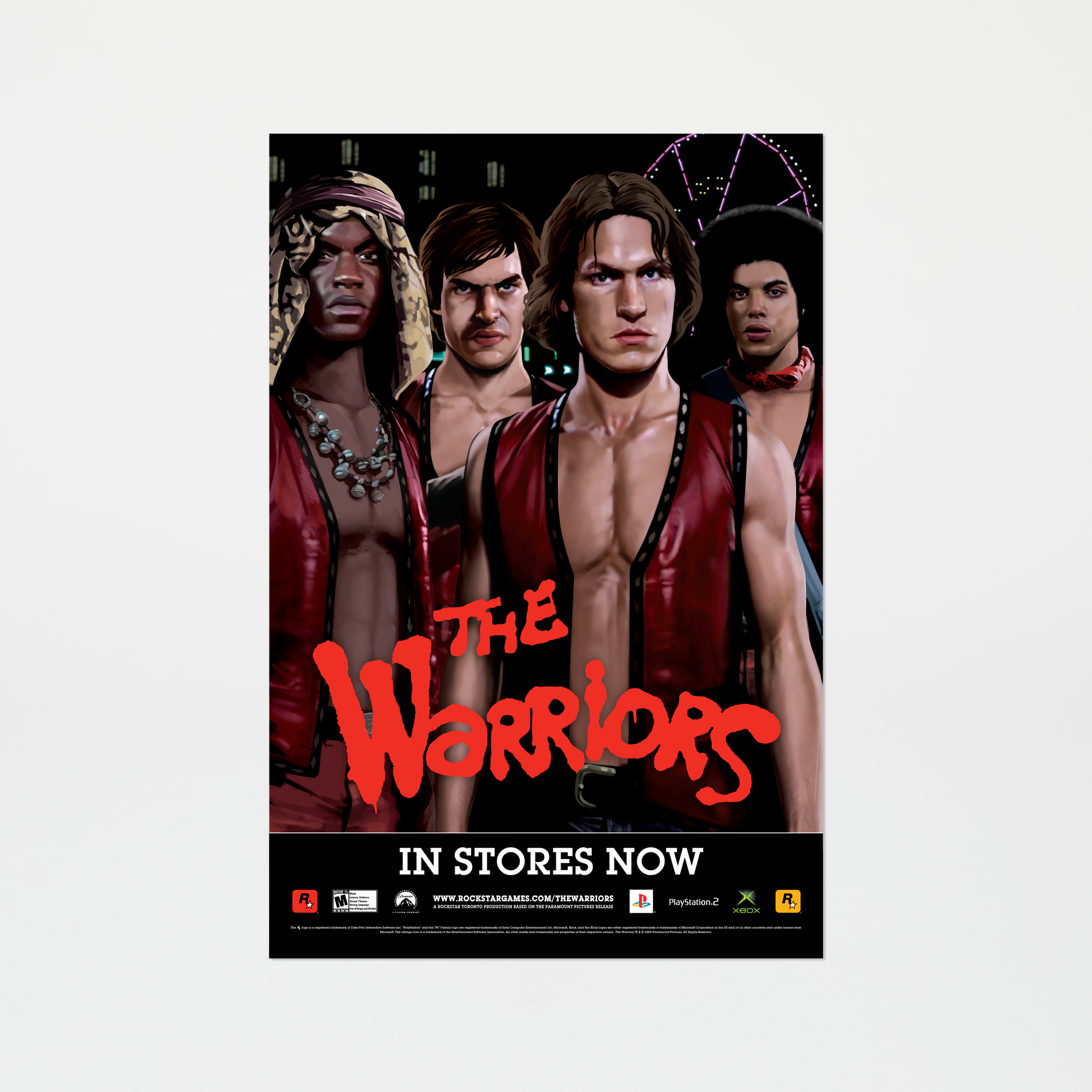 Plakat The Warriors