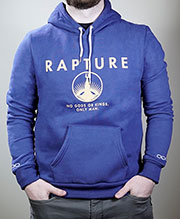 Welcome to Rapture Hoodie
