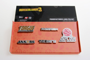 Borderlands 3 Manufacturer Logo Pin Set 2