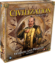 Sid Meier's Civilization Board Game: Wisdom and Warfare Expansion
