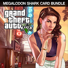 Grand Theft Auto V and Megalodon Shark Cash Card Bundle (PC)