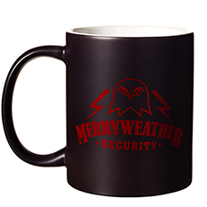 Merryweather Security Heat Changing Mug
