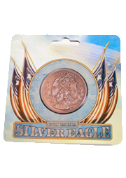 BioShock Infinite Silver Eagle Coin