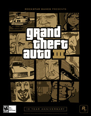 Grand Theft Auto III 10 Year Anniversary US Box - Poster