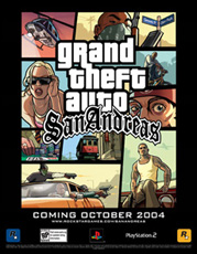 Grand Theft Auto: San Andreas - Poster