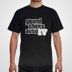 Grand Theft Auto IV Black Tee