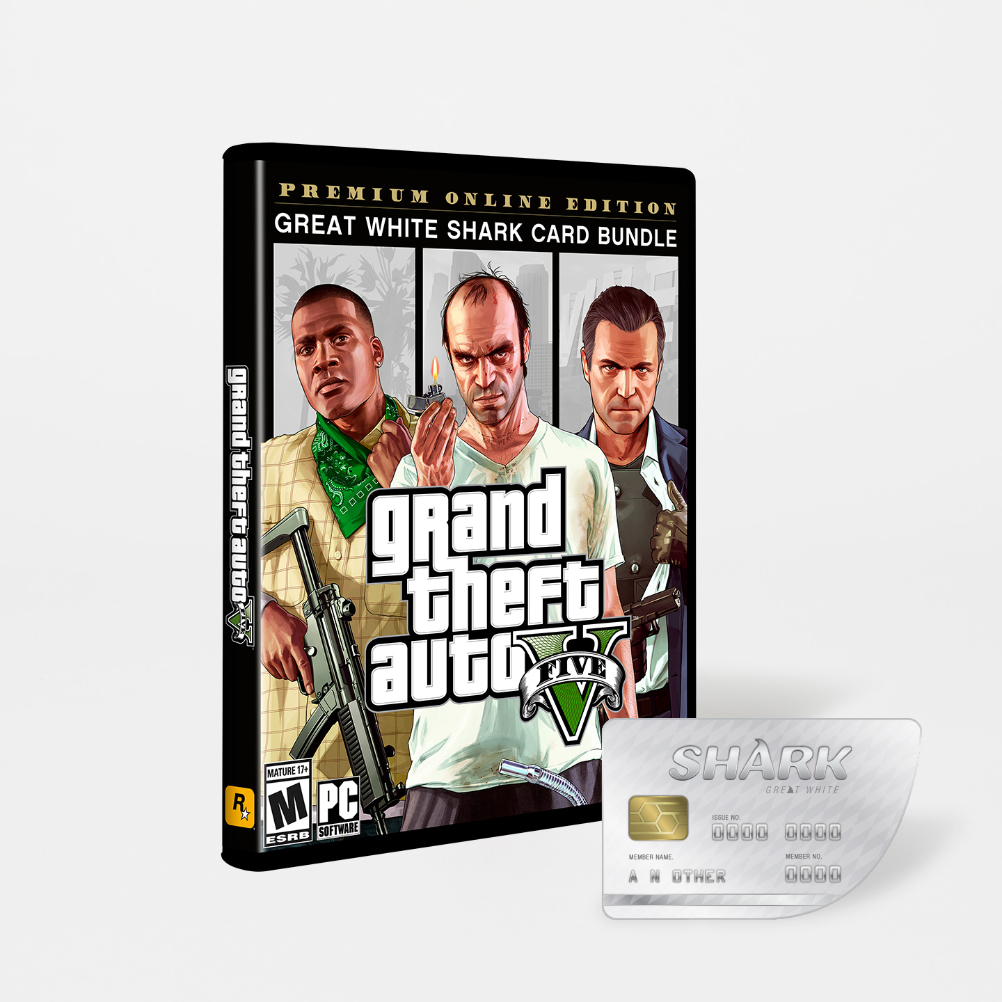 Grand Theft Auto V: Premium Online Edition & Great White