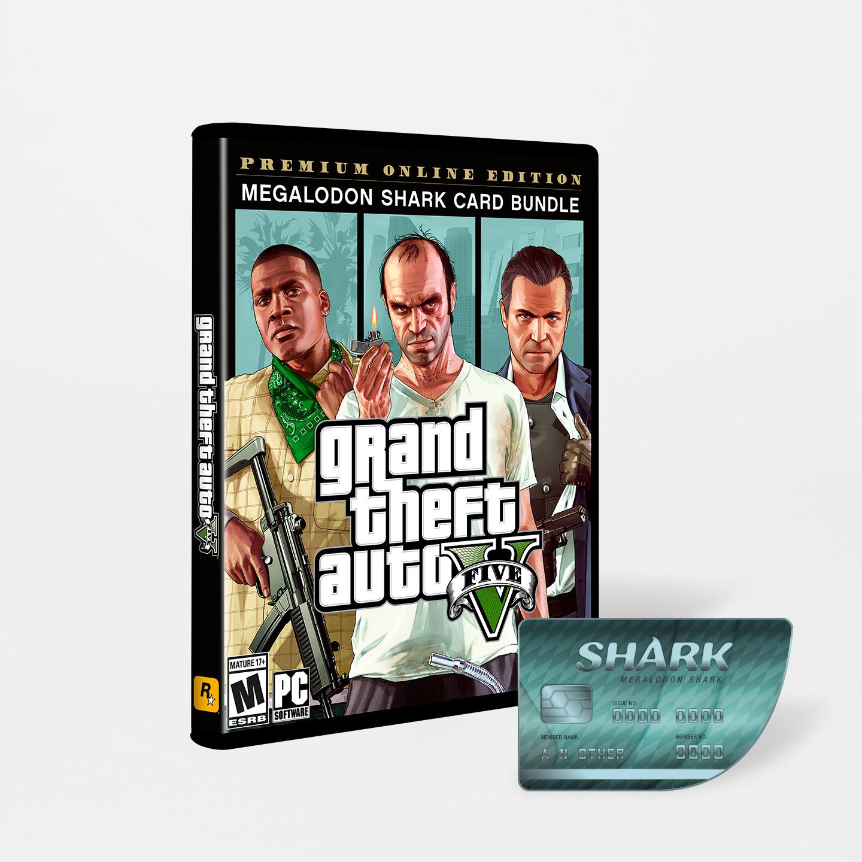 Grand Theft Auto V: Premium Online Edition & Megalodon Shark