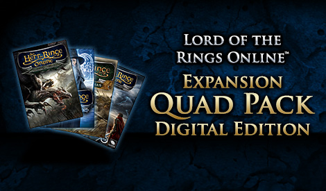 The Lord of the Rings Online™: Expansion Quad Pack - Digital Download